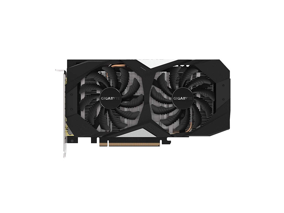 GIGABYTE GeForce GTX 1660 Ti OC 6G 192-bit GDDR6 DisplayPort 1.4 HDMI 2.0B with Windforce 2X Cooling System Graphic Cards (GV-N166TOC-6GD)