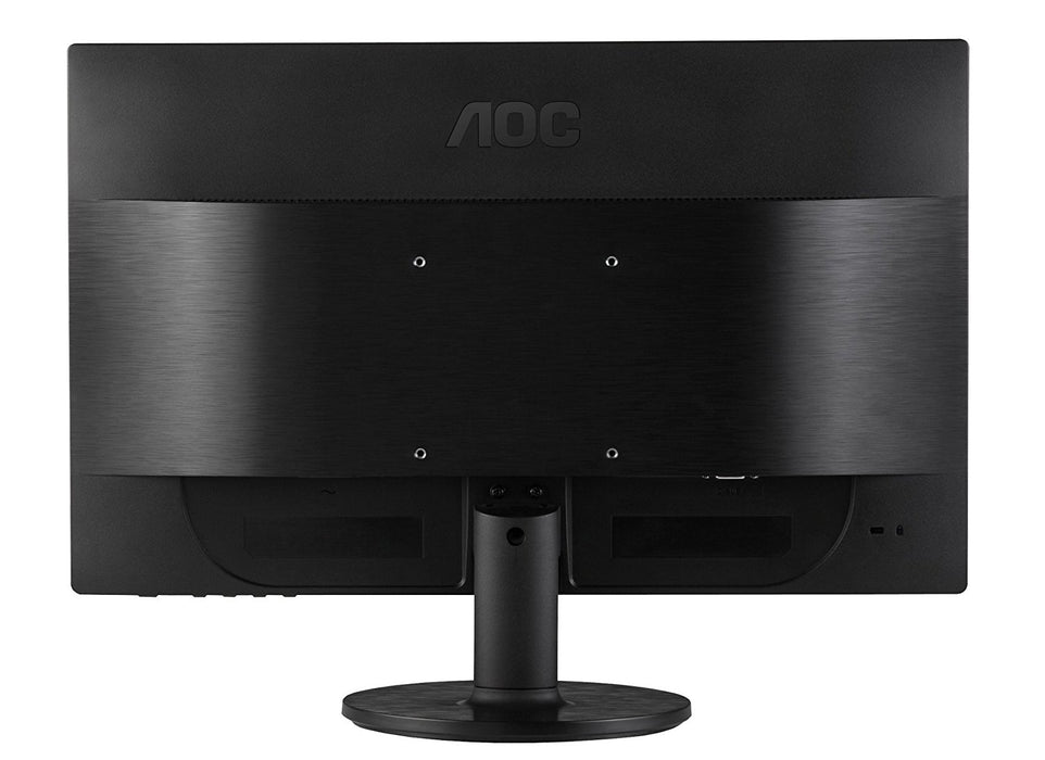 AOC e2460Sd 24-Inch Widescreen LED-Lit Monitor, Full HD 1080p, 5ms, 20M:1 DCR, VGA/DVI, VESA - V&L Canada