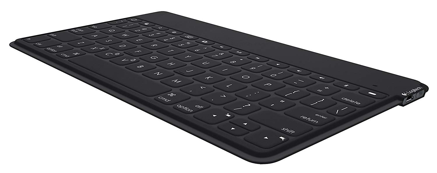 Logitech Keys-to-Go Ultra-Portable Bluetooth Keyboard for iPad, Black (920-006701)