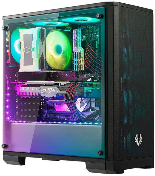BitFenix Nova Mesh Tg Black Case EATX/ATX/Micro ATX/Mini ITX Tempered Glass/Aura Sync RGB Fan