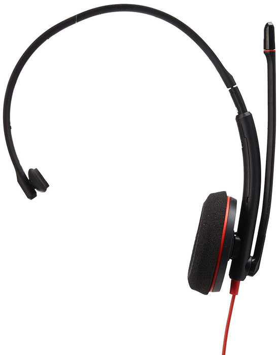 Plantronics Blackwire C3210 Headset - Mono - USB Type A - Wired - 20 Hz - 20 kHz - Over-The-Head - Monaural - Supra-aural - Noise Cancelling Microphone (209744-22)