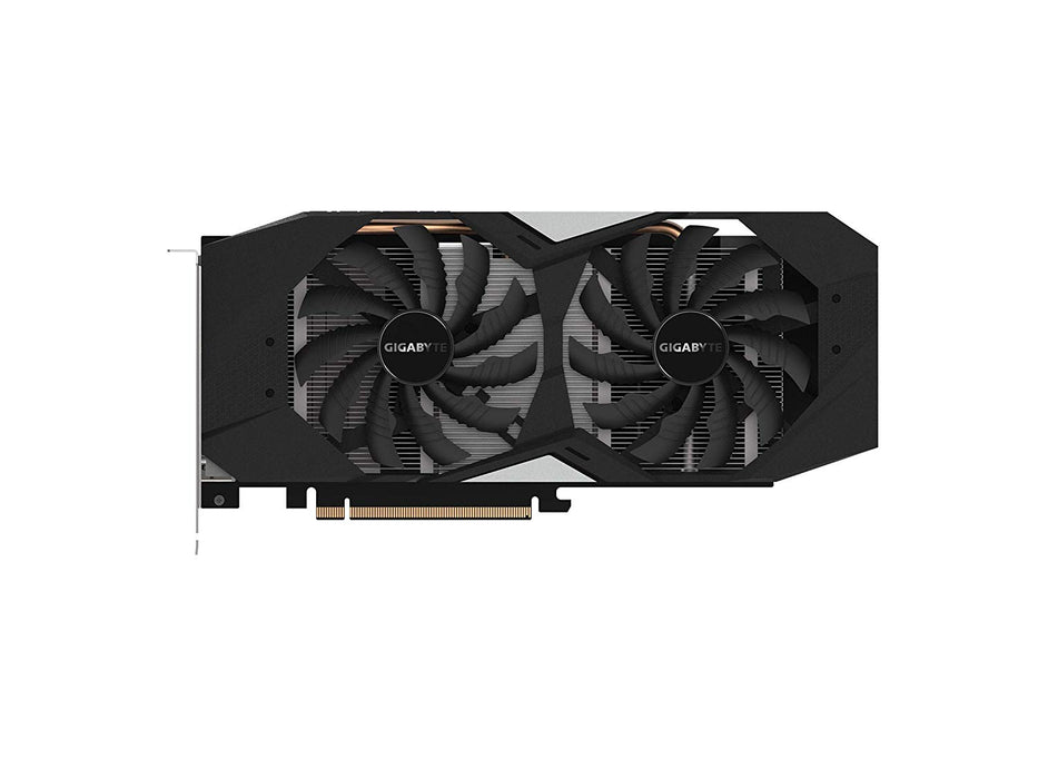 GIGABYTE GeForce GTX 1660 Ti Windforce OC 6G 192-bit GDDR6 DisplayPort 1.4 HDMI 2.0B with Windforce 2X Cooling System Graphic Cards- Gv-N166TWF2OC-6GD