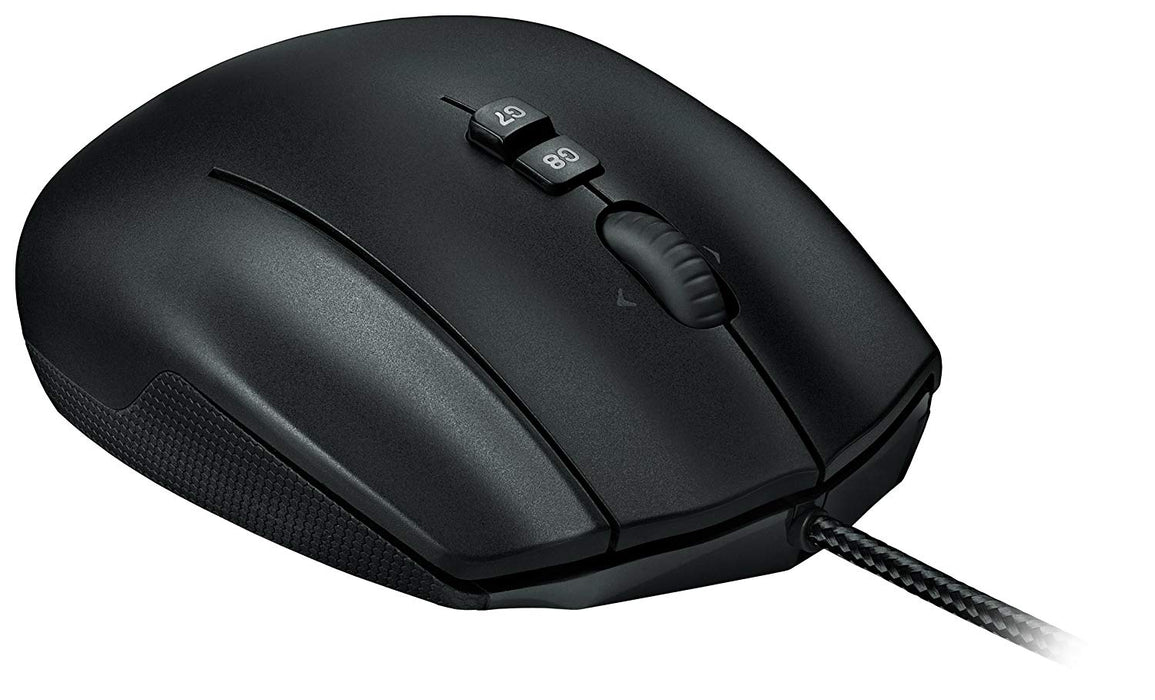 Logitech G600 USB Laser 8200DPI Black mice (910-002864)