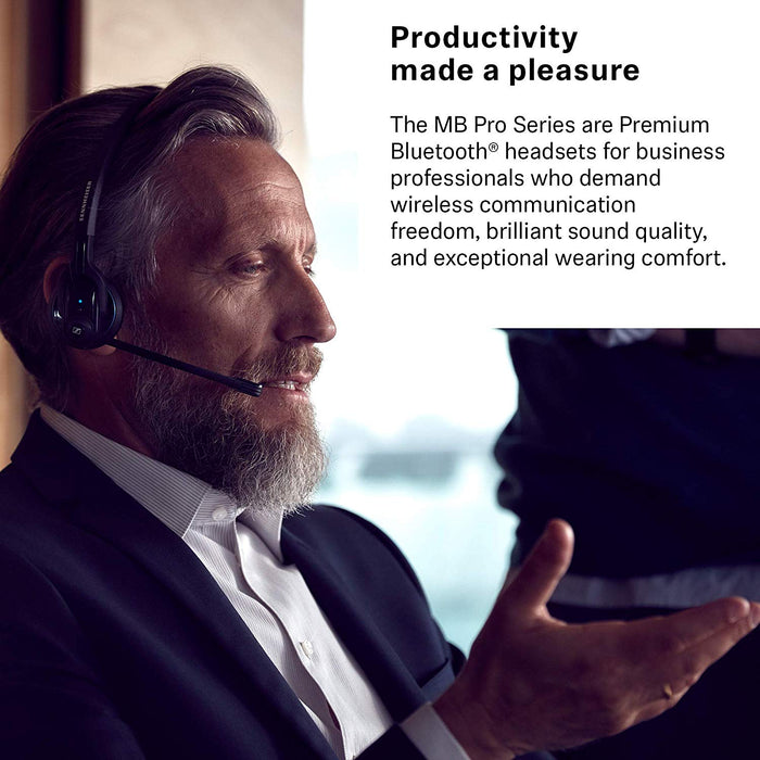 MB Pro 1 UC- High End, single-sided, Bluetooth Mobile Business headset with char (506042)