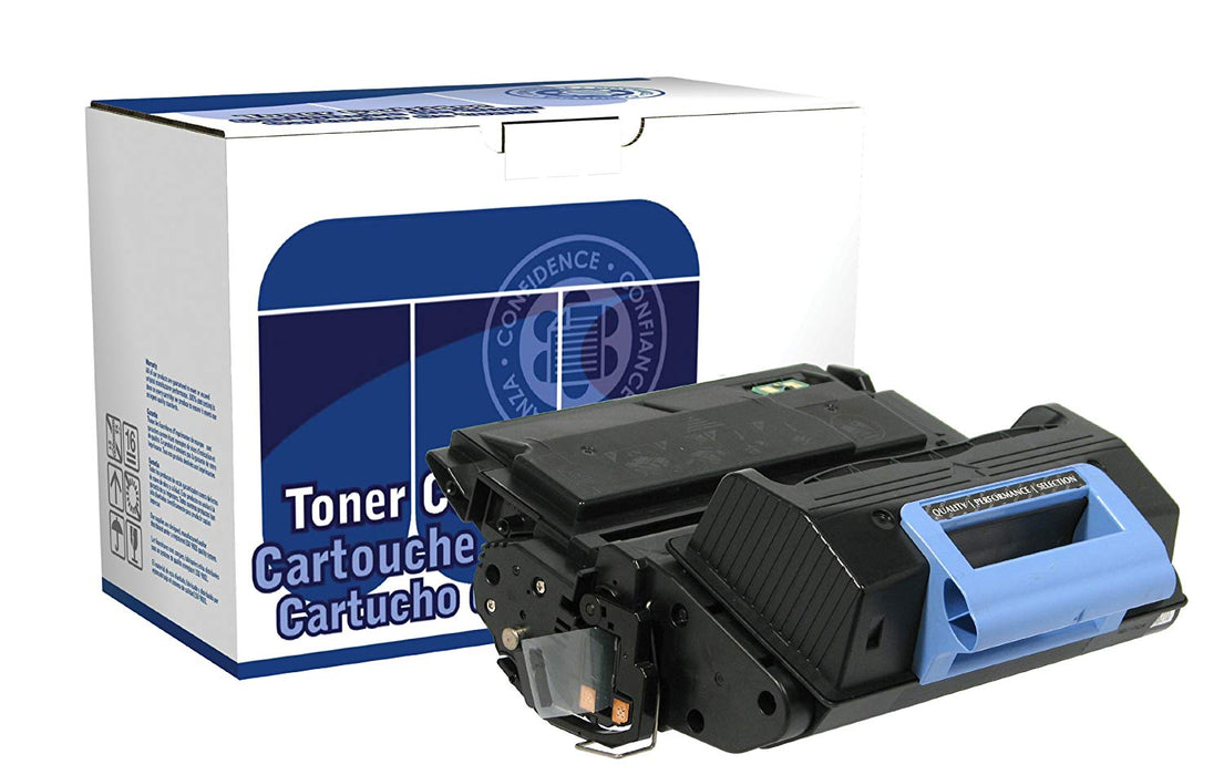 DataProducts remanufactured toner cartridge,Black, for use with:  HP LaserJet 43 (DPC45AP)
