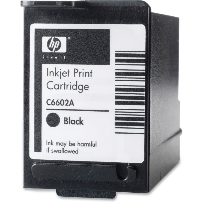 HP Reduced Height Black Original Ink Cartridge (C6602A)