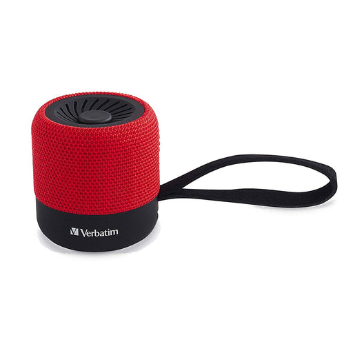 Verbatim Wireless Mini Bluetooth Speaker – Red (70230)