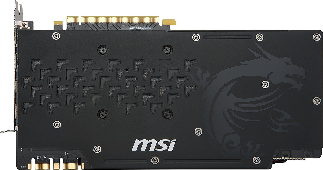 MSI GeForce GTX 1080 TI 11GB 352-Bit GDDR5X PCI  - GTX 1080 TI GAMING X - V&L Canada