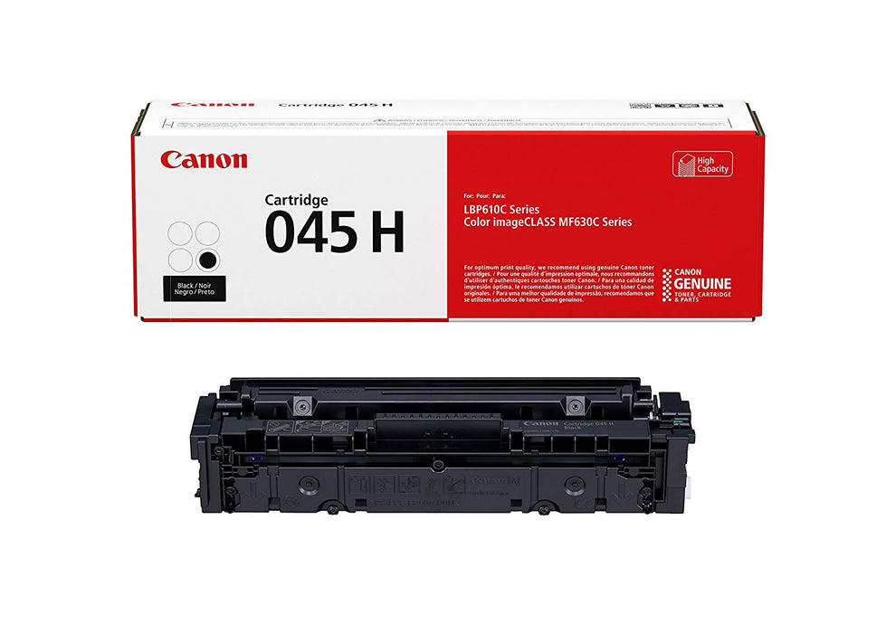 Canon Cartridge 045H Black Genuine Toner Cartridge (1246C001)