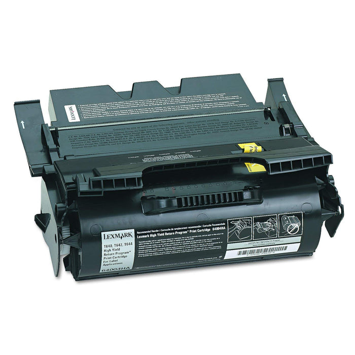 Lexmark 64004HA High Yield Black Toner Cartridge RETURN PROGRAM CART FOR LABELS