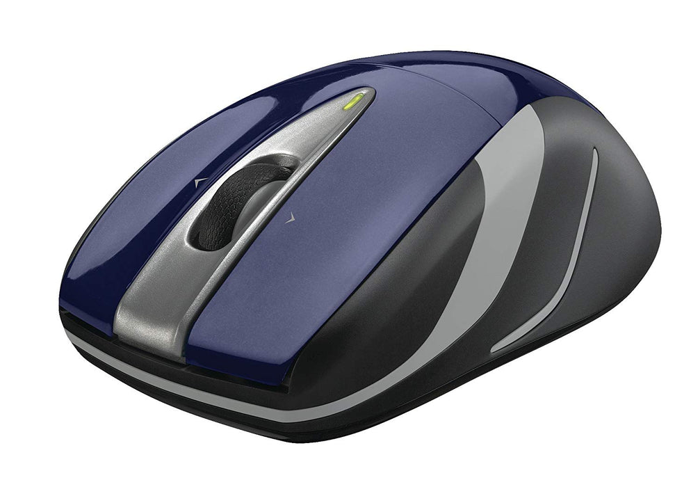 Logitech Wireless Mouse M525 - Navy/Grey (910-002698)
