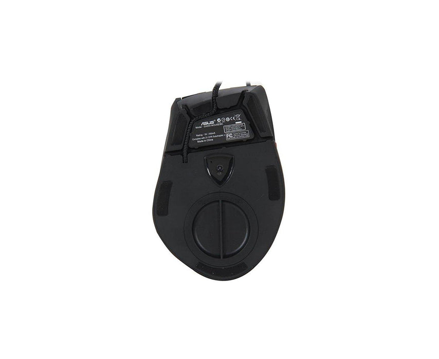 Asus Mouse 90-XB3L00MU00000- GX950 Laser Wired Mouse Up to 8200dpi Black Retail - V&L Canada