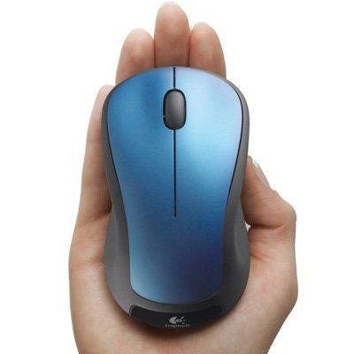 Logitech M310 RF Wireless Optical 1000DPI Blue mice (910-001917) - V&L Canada