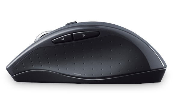 Logitech M705 RF Wireless Optical Black mice (910-001935) - V&L Canada