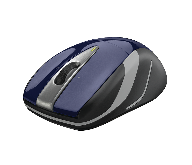 Logitech M525 RF Wireless Optical Ambidextrous Blue mice (910-002698) - V&L Canada