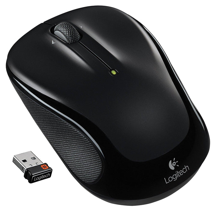 Logitech M325 RF Wireless Optical 1000DPI Ambidextrous Black mice (910-002974) - V&L Canada