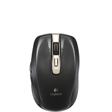 Logitech Anywhere Mouse MX RF Wireless Laser 1000DPI Right-hand Black mice 910-003040