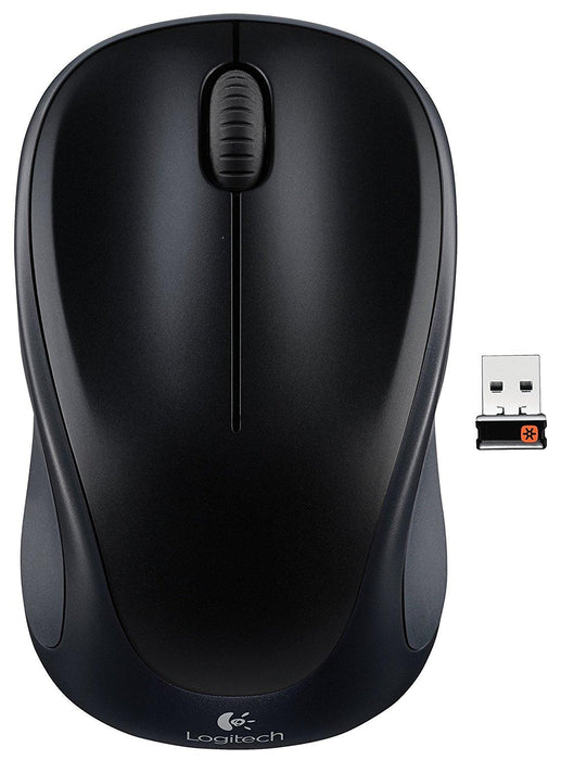 Logitech M317 RF Wireless+USB Optical Black mice (910-003416) - V&L Canada
