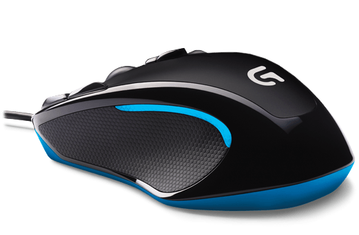 Logitech G300S USB Optical 2500DPI Right-hand Black,Blue mice (910-004360) - V&L Canada