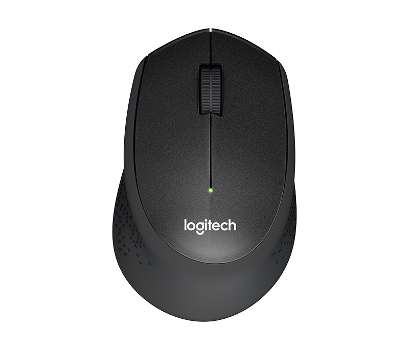 Logitech M330 SILENT PLUS RF Wireless Mechanical 1000DPI Right-hand Black mice (910-004905) - V&L Canada