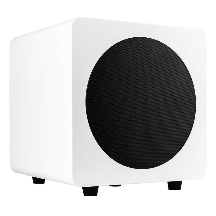 Roll over image to zoom in Kanto SUB8 8-inch Powered Subwoofer, Matte White