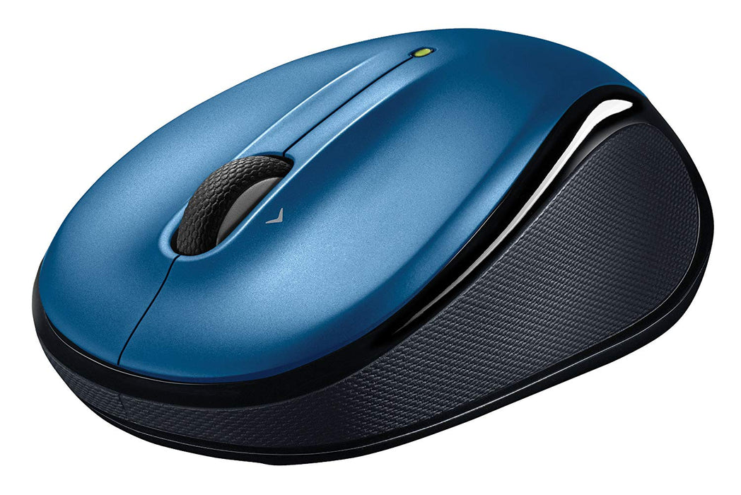 Logitech M325 Wireless Mouse, Blue (910-002650)