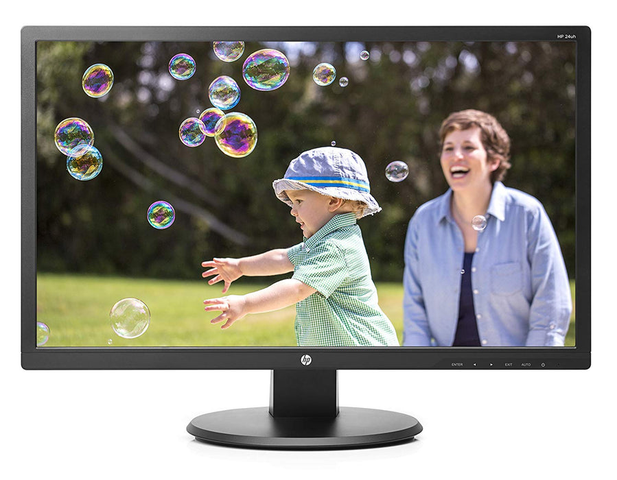 HP 24uh 24-inch LED Backlit Monitor (K5A38AA#ABA)