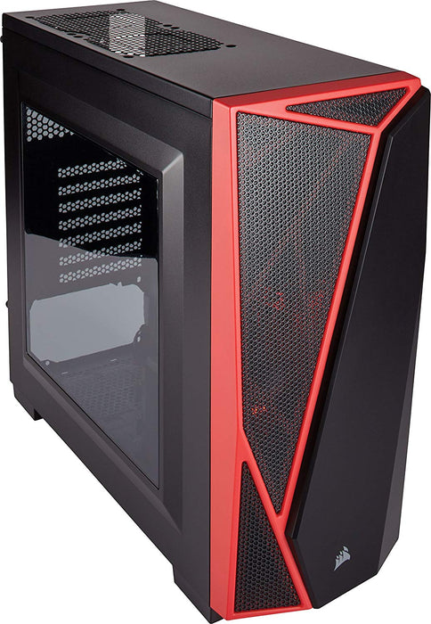CORSAIR Carbide SPEC-04 Mid-Tower Gaming Case- Red (CC-9011107-WW)
