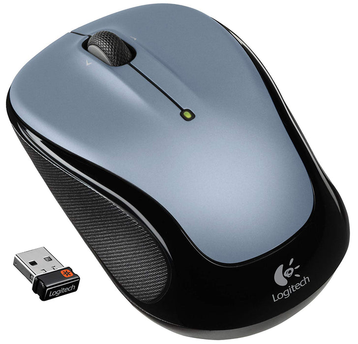 Logitech Wireless Mouse M325 with Designed-For-Web Scrolling - Light Silver (910-002332)