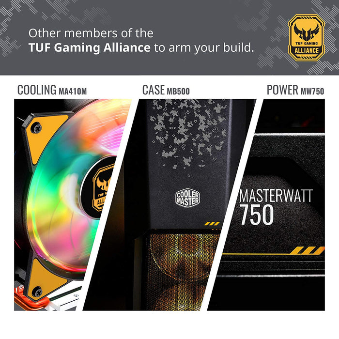 Cooler Master Air MA620P TUF Edition Twin-Tower RGB CPU Air Cooler 6 Heat  Pipes Dual Master Fan MF120R 120mm RGB Fans MAP-D6PN-AFNPC-R1
