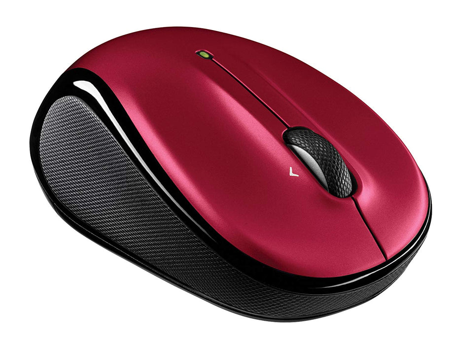 Logitech M325 Wireless Mouse, Red (910-002651)