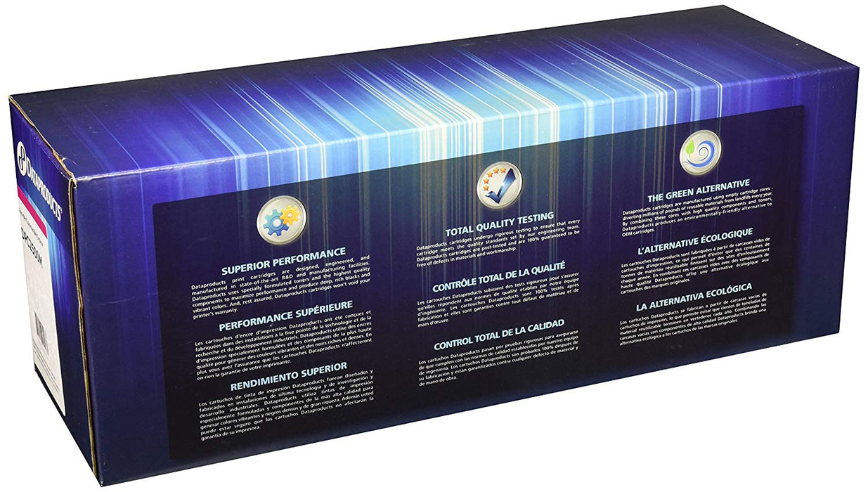 DataProducts remanufactured toner cartridge,Magenta, for use with:  HP Color Las (DPC2500M)