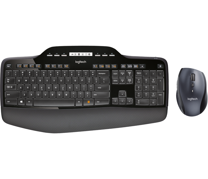 Logitech MK710 RF Wireless QWERTY Black (920-002418) - V&L Canada