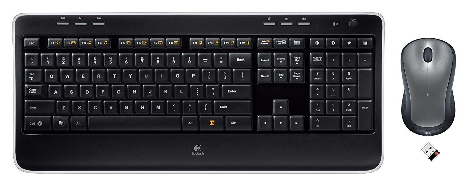 Logitech Keyboard/Mouse 920-002553 Wireless Combo MK520 2.4GHz Black Retail - V&L Canada