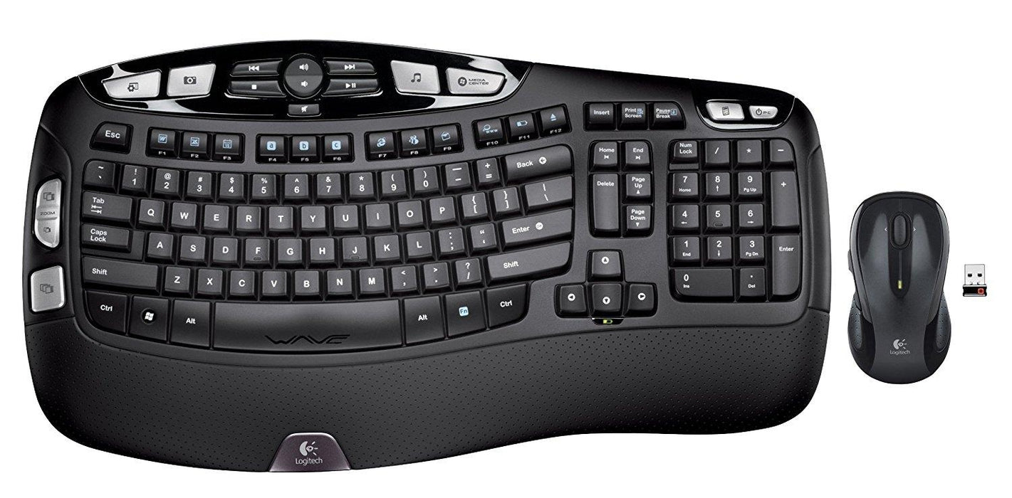 Logitech Keyboard and Mouse Wireless Wave Combo MK550 2.4GHz Retail (920-002555)