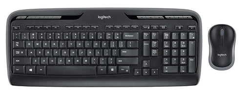 Logitech Keyboard and Mouse 920-002836 Wireless Desktop MK320 2.4GHz Retail
