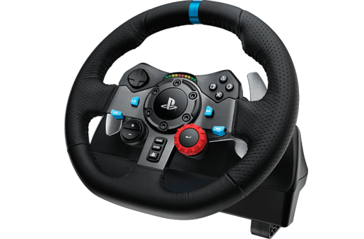 Logitech G29 Steering wheel + Pedals PlayStation 4, Playstation 3 Black (941-000110) - V&L Canada