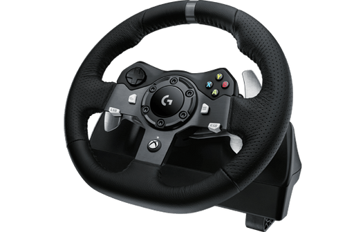 Logitech G920 Steering wheel + Pedals Mac, PC, Xbox Black (941-000121) - V&L Canada