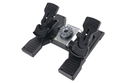 Logitech Pro Flight Rudder Pedals Flight Sim , PC (945-000024) - V&L Canada