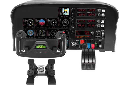 Logitech Pro Flight Switch Panel Flight Sim (945-000030) - V&L Canada
