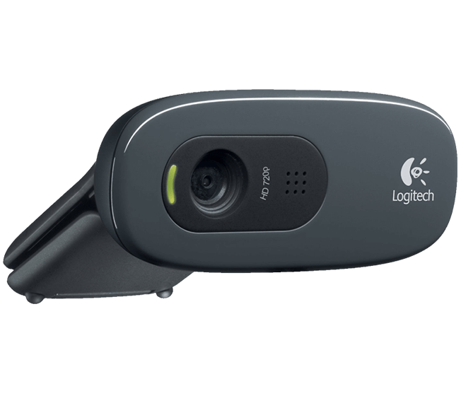 Logitech Multimedia 960-000694 Color HD Webcam C270 Audio Hi-Speed USB Retail - V&L Canada