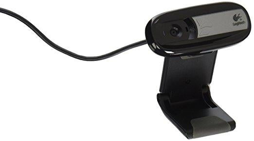 Logitech Surveillance 960-000880 C170 Webcam 0 3 Megapixel USB2 0 5  Megapixel Interpol Camera Retail