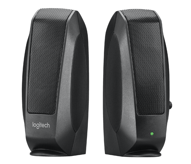Logitech Speaker S120 2.0-channal 2PC 2.3W Black OEM (980-000012) - V&L Canada