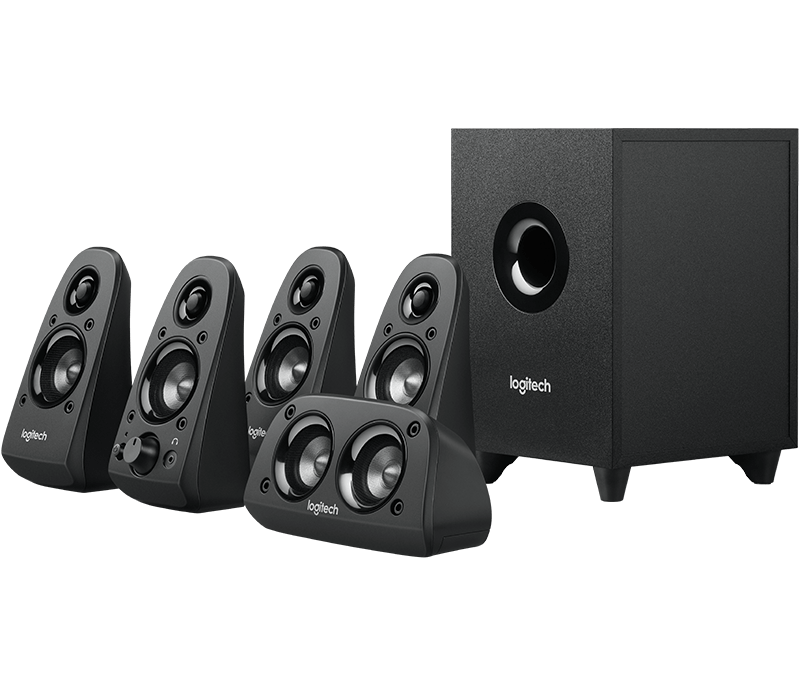 Logitech Speakers Z560  PC Home Theater System 5.1Channel 75W Retail 980-000430 - V&L Canada