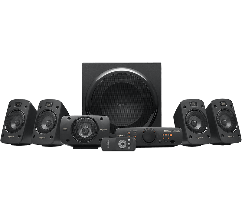 Logitech Z906 5.1channels 500W Black speaker set 980-000467 - V&L Canada