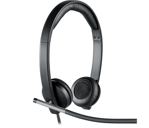 Logitech H650e Stereo Binaural Head-band Black headset (981-000518)