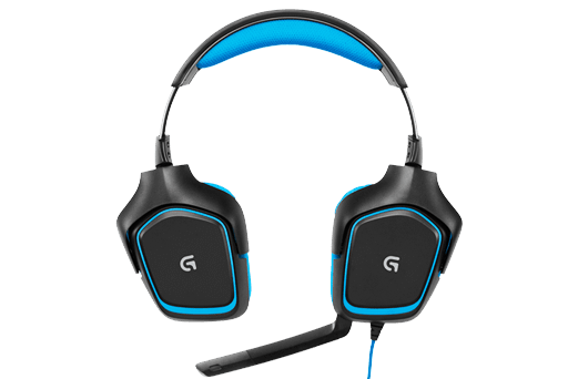 Logitech G430 Binaural Head-band Black,Blue headset (981-000536) - V&L Canada