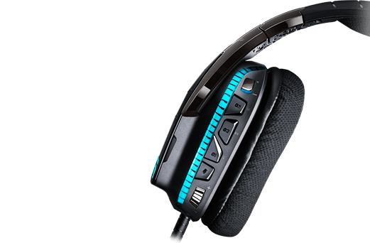Logitech G633 Binaural Head-band Black,Blue Wired headset (981-000586) - V&L Canada