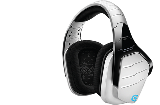 Logitech G933 Artemis Spectrum Binaural Head-band Black, White headset (981-000620)