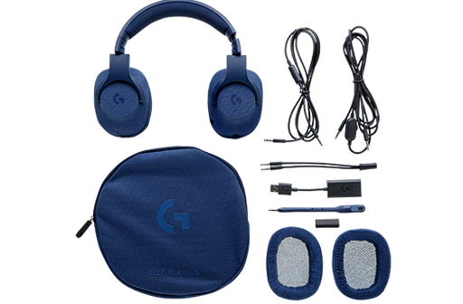 Logitech G433 Binaural Head-band BLU headset (981-000681) - V&L Canada